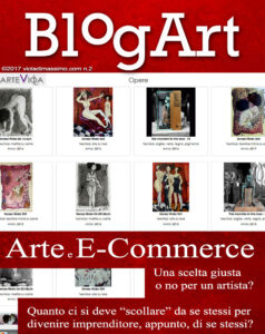 arte e e-commerce viola blogart