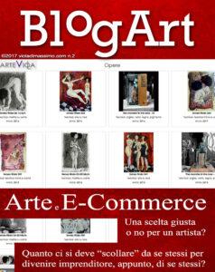 arte e e-commerce viola blogart