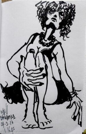 bozzetto pennarello illustrazione