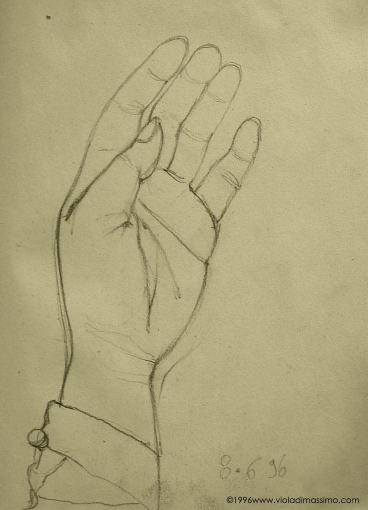 disegno matita su carta
