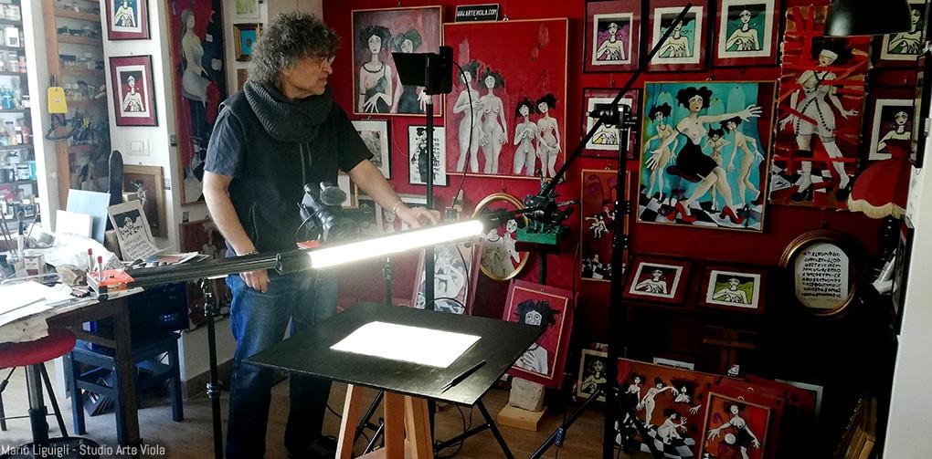 l'artista e il cinematographer