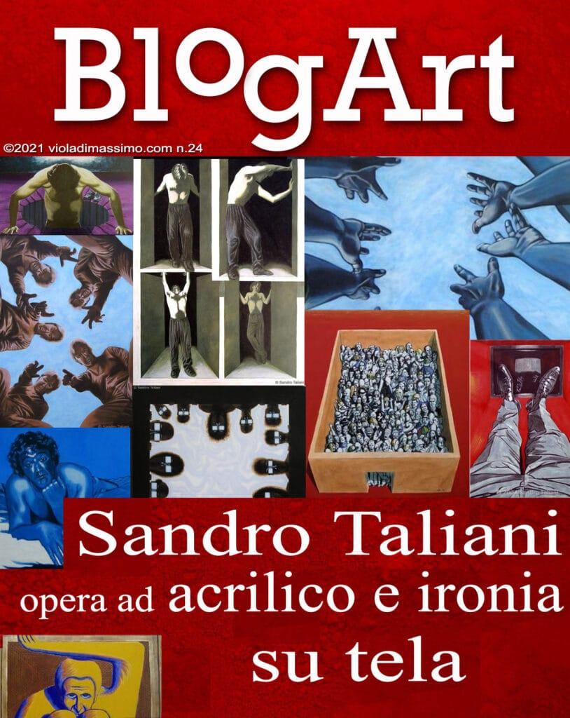 Sandro Taliani, blogart