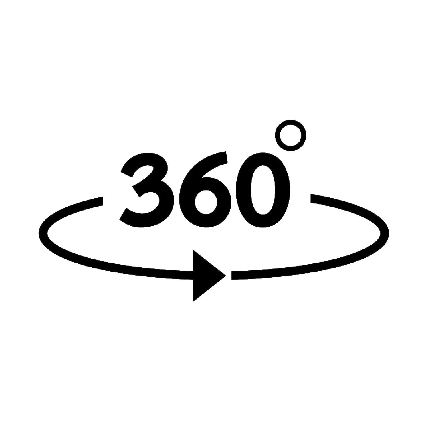 360-degree-icon-vector