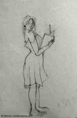 disegno opera su carta